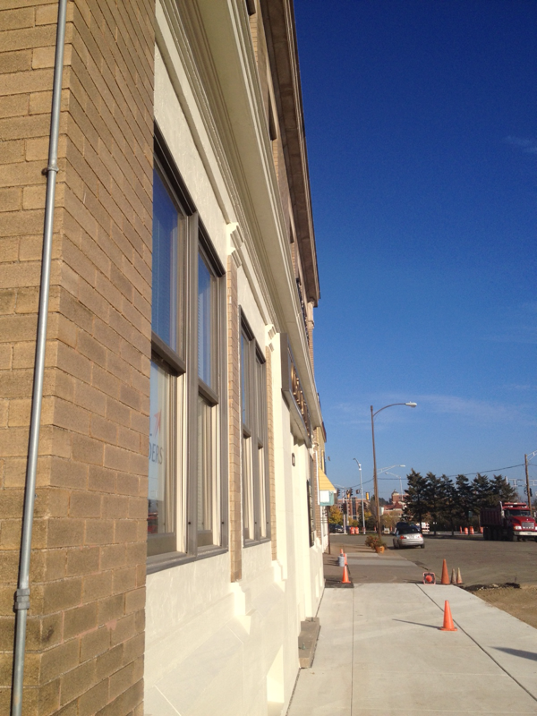 Exterior commercial painting complete service Exterior commercial painting